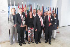Delegation from Rhineland-Palatinate in Tanzania